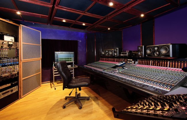 Recording Studio Interior Recording Studio Lighting
