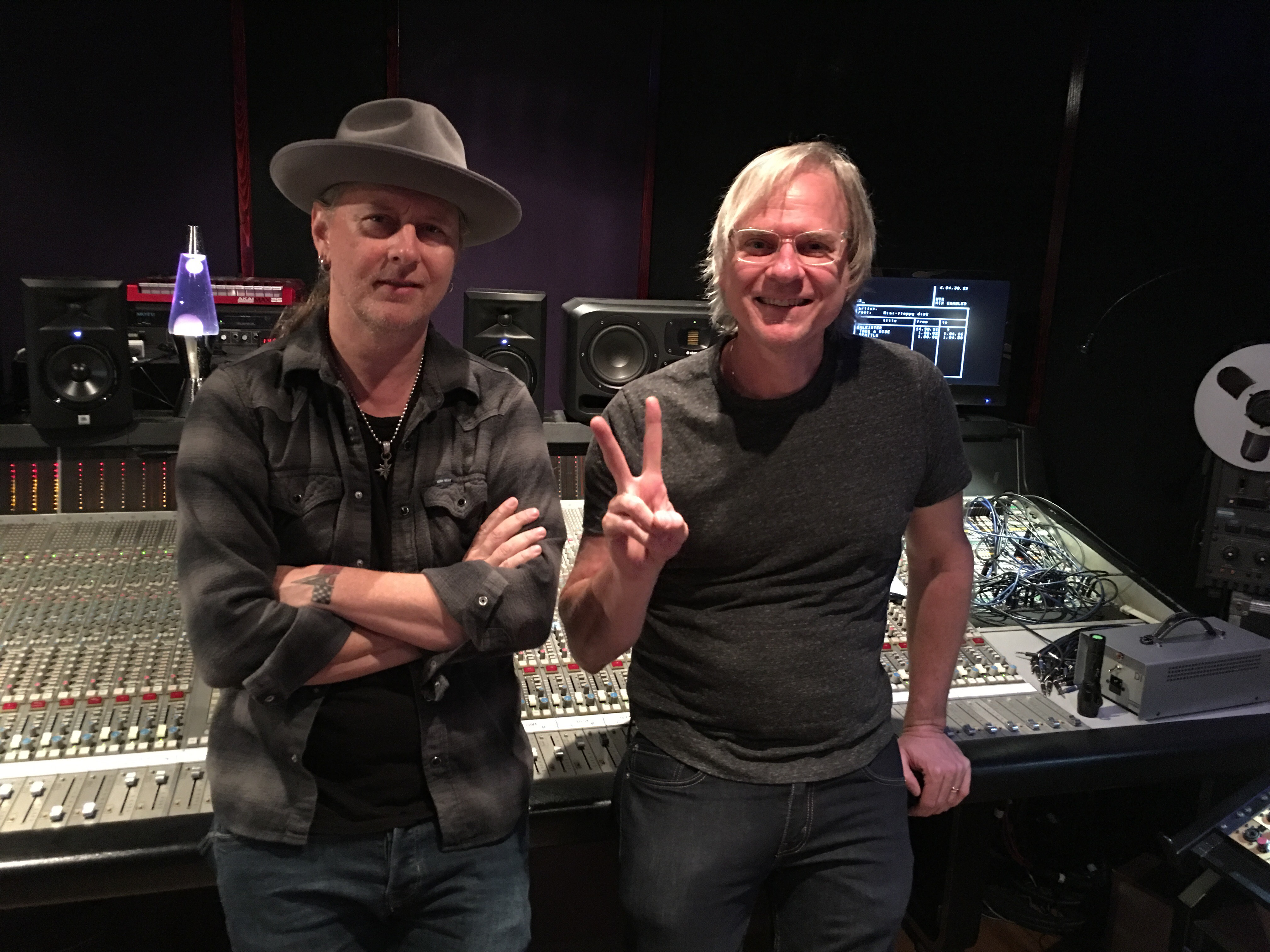 Jerry Cantrell and Joe
